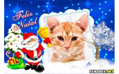 Moldura - Feliz Natal
