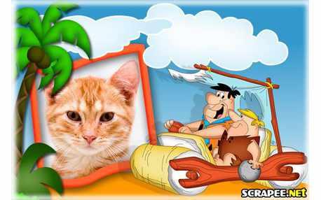4914-Os-Flintstones---Fred-e-Barney