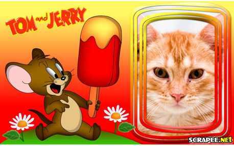 Moldura - Jerry   Tom E Jerry