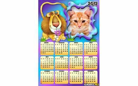 Moldura - Calendario De Leao