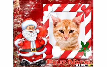 Moldura - Papai Noel