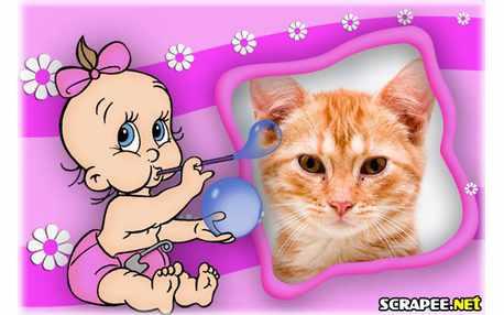 Moldura - Bebezinho
