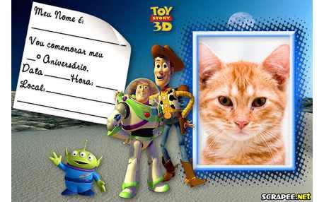 Moldura4998 Convite Toy Story