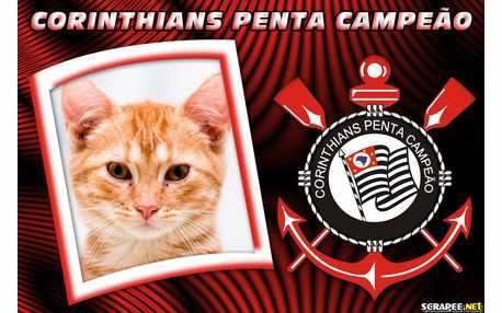 Moldura - Corinthians Penta Campeao