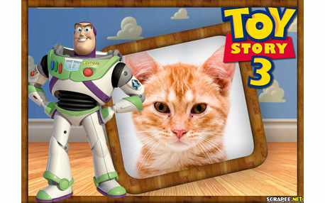 Moldura5039 Robo Buzz do Filme Toy Story