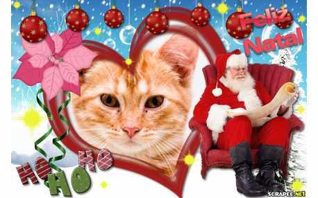 Moldura - Querido Papai Noel