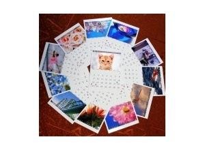 Montagem de foto Calendarios