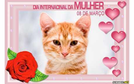 Moldura - Dia Da Mulher   8 De Marco