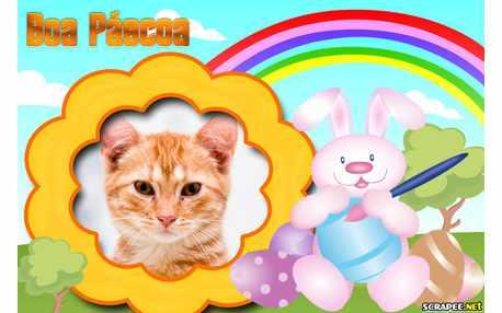 Moldura - Boa Pascoa