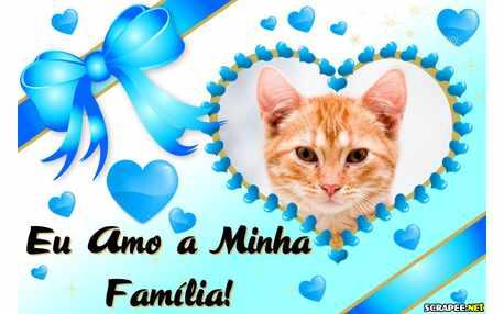 Moldura - Eu Amo Minha Familia