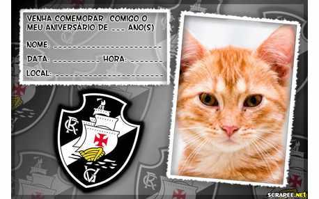 Moldura5272 Convite do Vasco