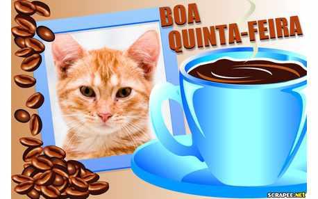 Moldura - Boa Quinta Feira   Xicara De Cha