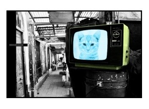 Scrapee.net - Photomontage Old TV