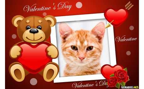 Moldura - Valentines Day