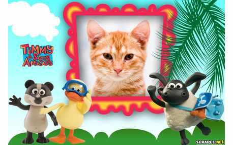 Moldura - Timmy E Seus Amigos