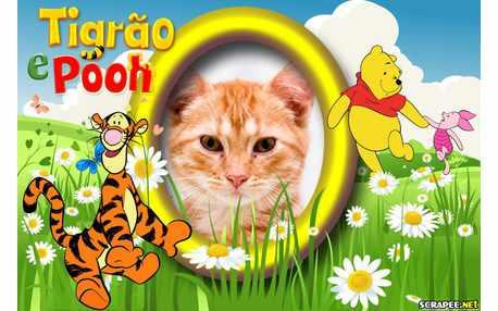 Moldura - Tigrao E Pooh