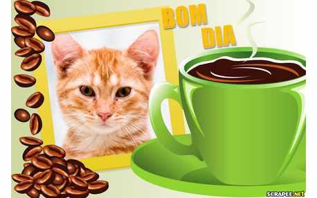 Moldura - Bom Dia   Cafezinho