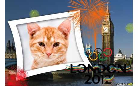 Moldura - Olimpiadas London 2012
