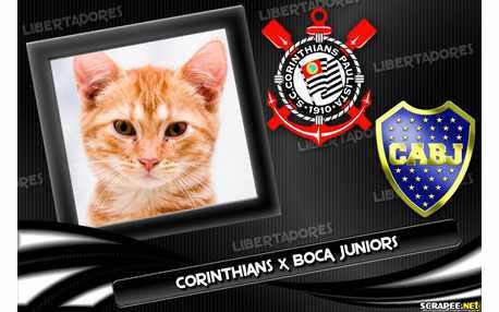 Moldura - Corinthians X Boca Juniors