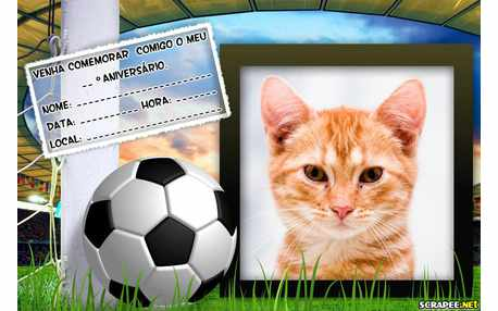 Moldura - Convite De Futebol