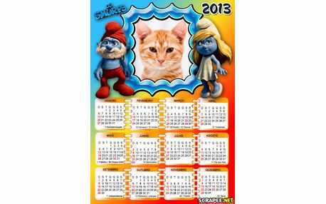 5753-Calendario-Os-Smurfs-2013