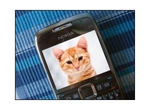 Montagem de foto Nokia e71