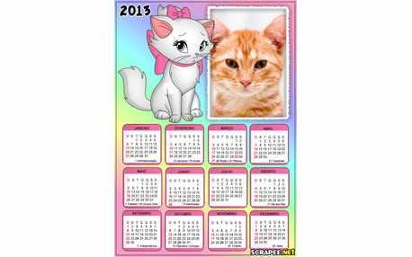 5765-Calendario-da-Gatinha-Marie-2013