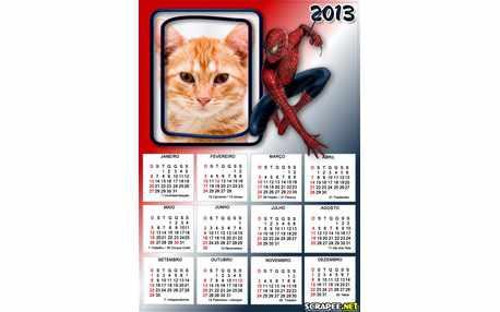 5767-Calendario-Homem-Aranha-2013