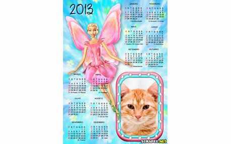 5774-Calendario-Barbie-Fairytopia-2013