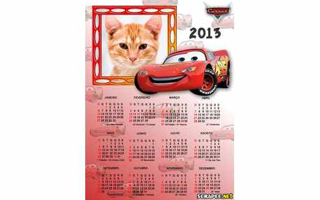 Moldura - Calendario  Do Macqueen 2013