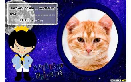 Moldura - Lembrancinha Pequeno Principe