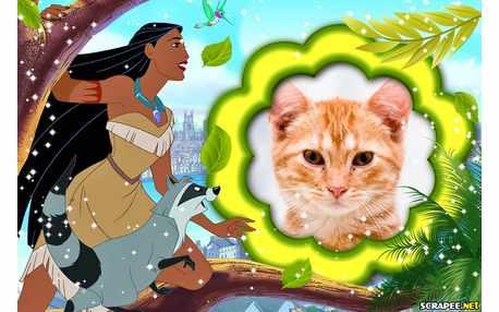 Moldura - Pocahontas