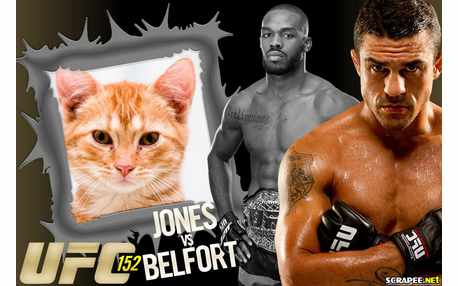 Moldura - Ufc Jones Vs Belfort
