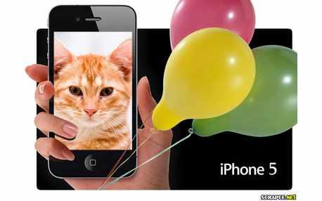 Moldura - Iphone 5 Lancamento