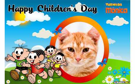 Moldura - Happy Childrens Day