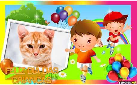 Moldura - Dia Das Criancas 2013