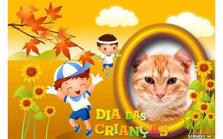 Moldura - Dia Da Crianca