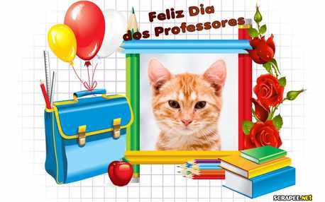 Moldura - Feliz Dia Dos Professores