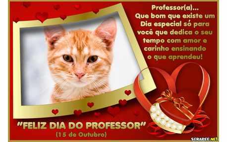 Moldura - Homenagem Aos Professores