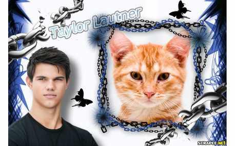 Moldura - Taylor Lautner   Jacob Da Saga Crepusculo