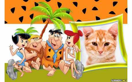 Moldura - Os Flintstones