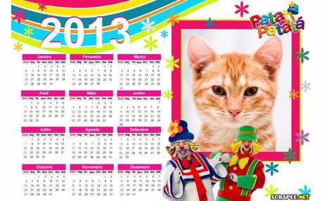Moldura - Calendario 2013 Patati Patata