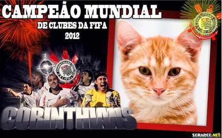 Moldura - Corinthians Campeao Mundial De Clubes Da Fifa