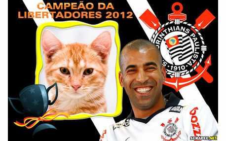 Moldura - Corinthians Campeao Libertadores 2012
