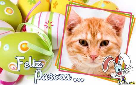 Moldura - Feliz Pascoa