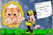6016-Convite-da-Minnie-Vestido-amarelo