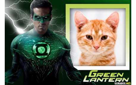 Moldura - Green Lantern   Lanterna Verde