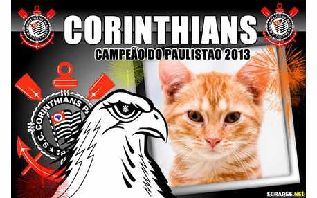 Moldura - Corinthians Campeao Do Paulistao