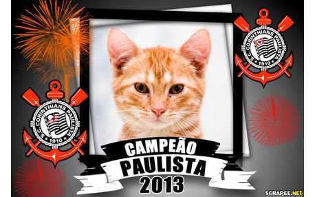 Moldura - Campeao Paulista 2013