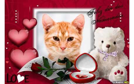 Moldura - Feliz Dia Dos Namorados